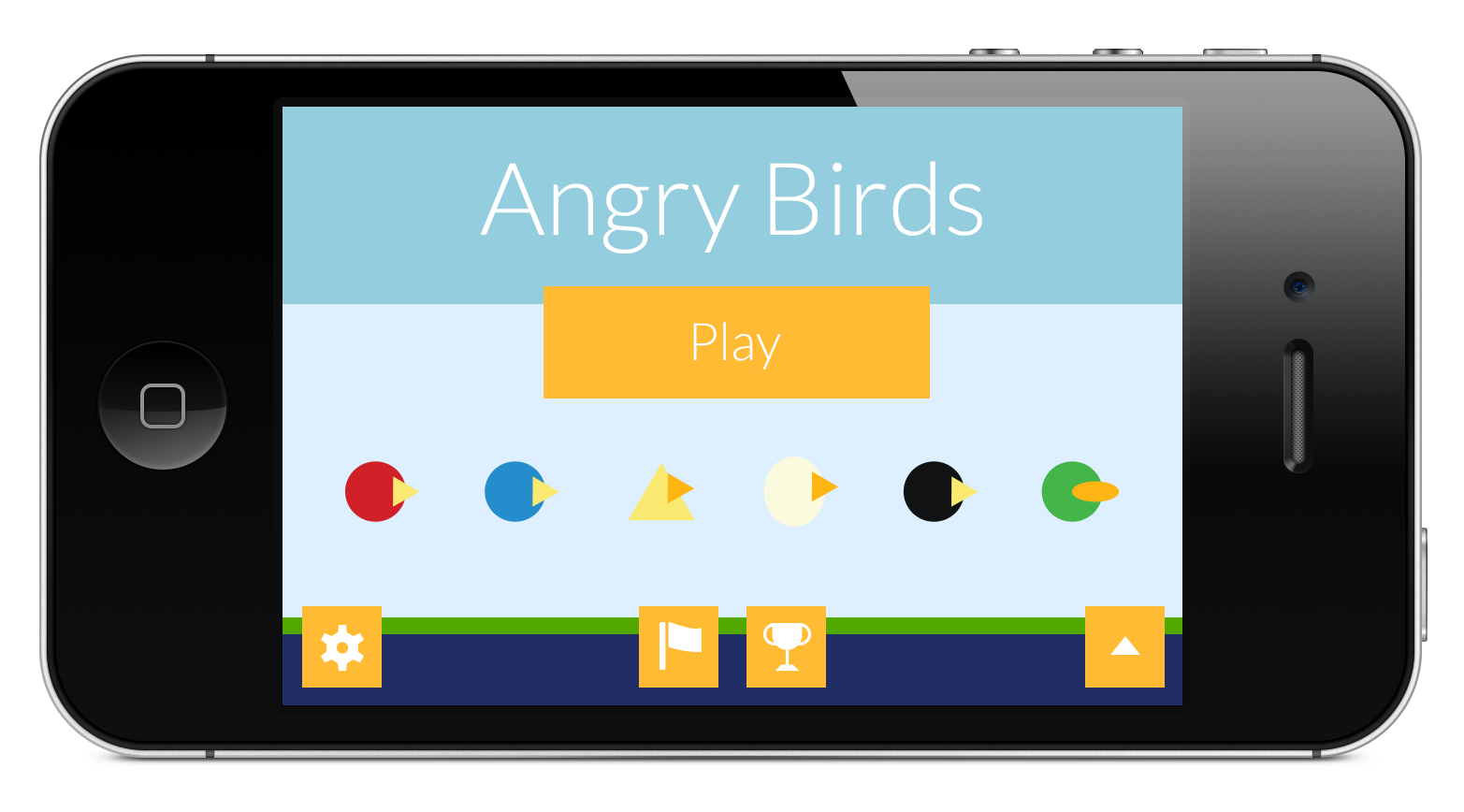 AngryBirdsFlat-iPhone