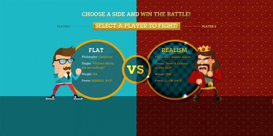 flat_vs_realism